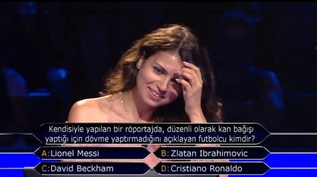 Yarışmacının Messi yorumu izleyenleri güldürdü