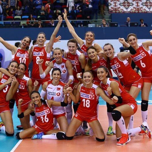 كرة طائرة: تركيا تتوّج ببرونزية أوروبا للسيدات