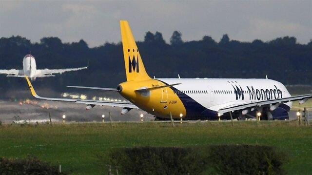 A Monarch Airlines passenger aircraft