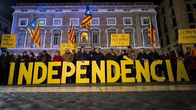 Katalonya'daki referandum sona erdi