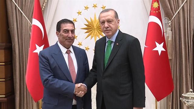 Cumhurbaşkanı Erdoğan, Ürdün Meclis Başkanı'nı kabul etti