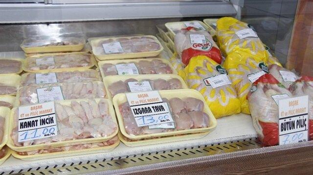 Tavuk fiyatlarında büyük düşüş