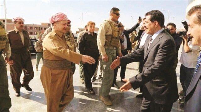 Barzani held a closed-door meeting with the Peshmerga in Kirkuk.