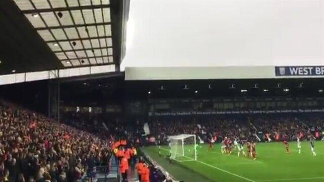 İngiltere'de gol sonrası kale arkası