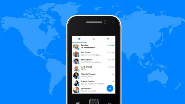 Facebook'tan kota dostu uygulama: Messenger Lite