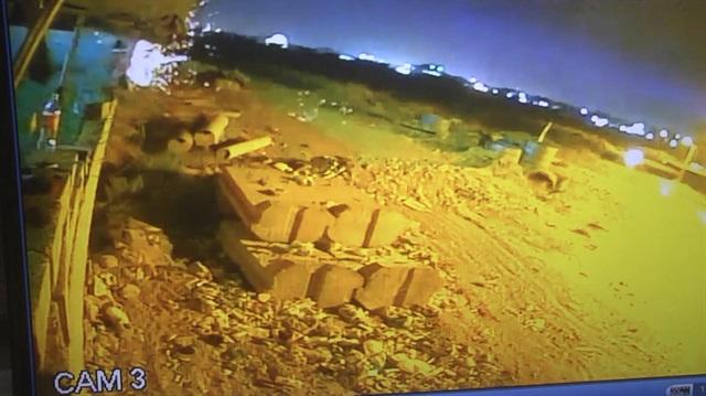 Irak Türkmen Cephesi bürosuna bombalı saldırı kamerada