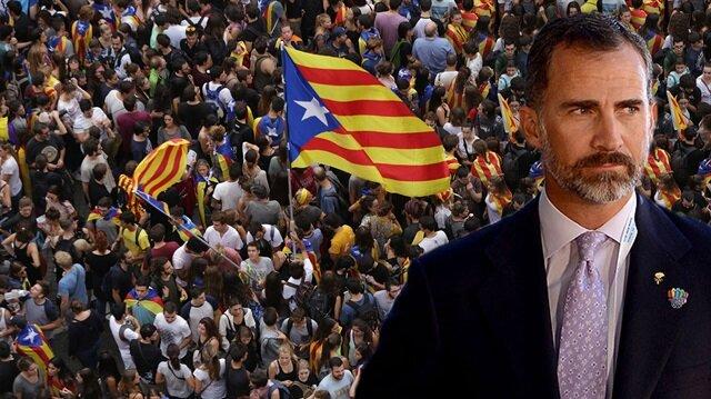 Katalonya'dan bağımsızlık açıklaması