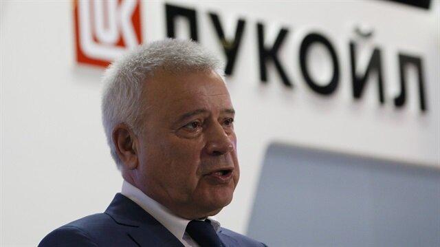 CEO of Lukoil company Vagit Alekperov