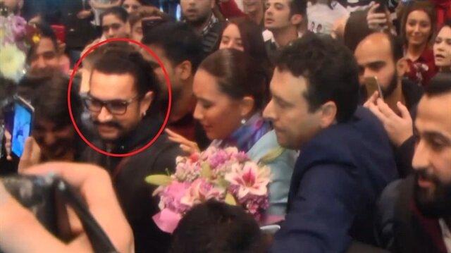 Amir Khan'a Atatürk Havalimanı'nda yoğun ilgi