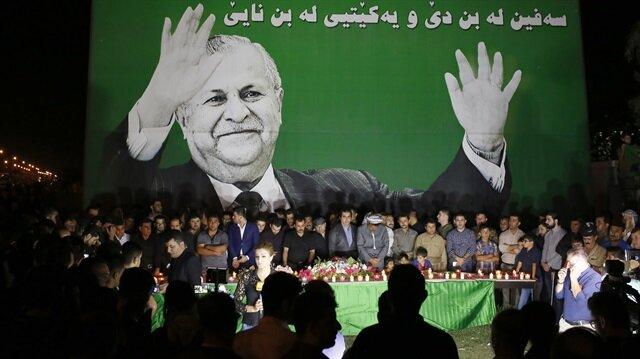 Irak'ın eski Cumhurbaşkanı Celal Talabani'nin vefatı sebebiyle anma etkinlikleri düzenleniyor.
