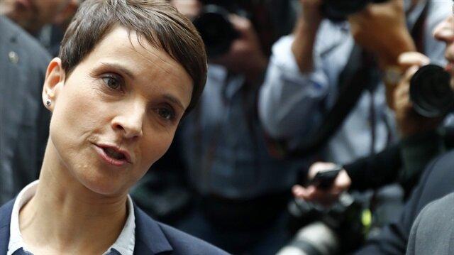 Alternatif (AfD) partisinin eski Eşbaşkanı Frauke Petry