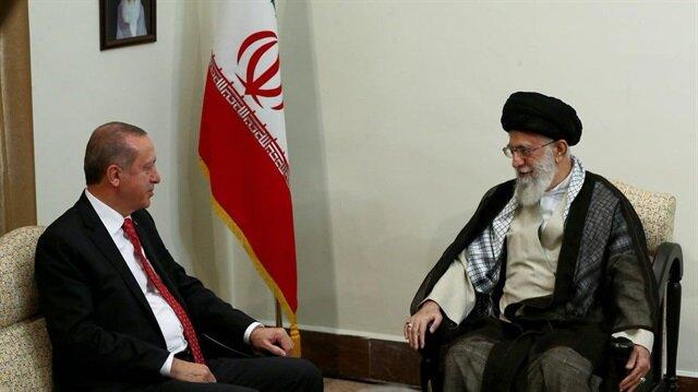 Cumhurbaşkanı Erdoğan, İran Dini Lideri Hamaney ile bir araya geldi. Görüşme 1 saat 10 dakika sürdü.