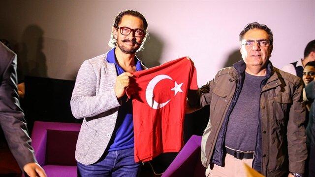 Bollywood'un ünlü oyuncusu Aamir Khan, İstanbul'da