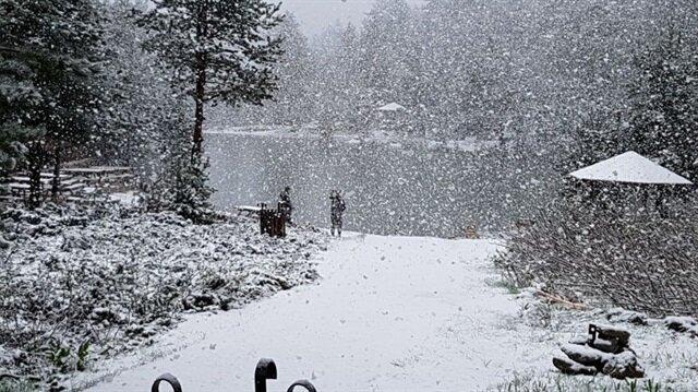 Meteoroloji Genel Müdürlüğünden ilk kar yağışı uyarısı yapıldı.