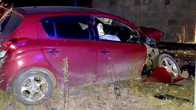 Kars'ta trafik kazası