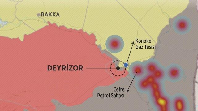 PKK petrol bölgesi Deyrizor'u işgal etti