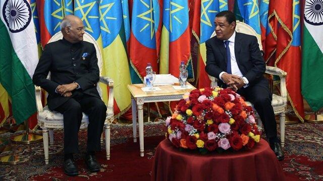 President of India Kovind in Ethiopia