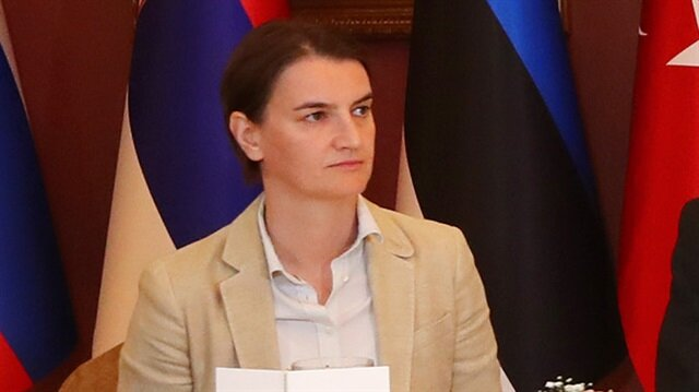 Serbian PM Ana Brnabic