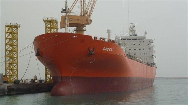GAS CAT gemisi