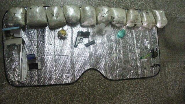 Bolu'da 10 kilo uyuşturucu ele geçirildi