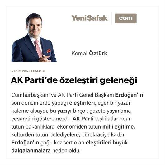 AK Parti'de özeleştiri geleneği
