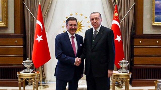 Cumhurbaşkanı Erdoğan Gökçek'i kabul etti