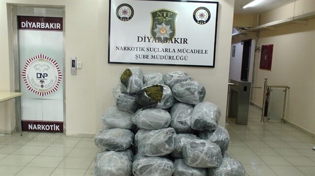 Diyarbakır'da gerçekleştirilen uyuşturucu operasyonunda 3 kişi tutuklandı