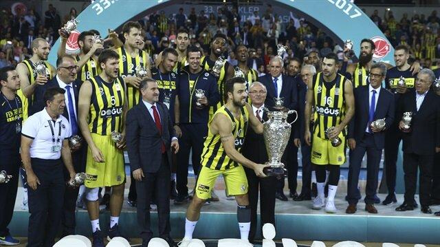 Fenerbahçe Doğuş, Erkekler Cumhurbaşkanlığı Kupası'nı 7. kez kazandı.