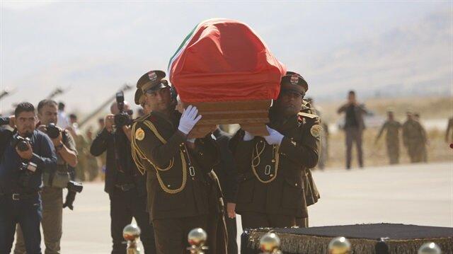 Eski Irak Cumhurbaşkanı Celal Talabani için Süleymaniye'de tören düzenlendi.