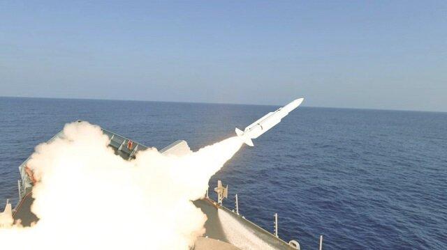 Deniz Kuvvetleri Komutanlığı'nca güdümlü füze ve harp torpidosu atışları yapıldı.