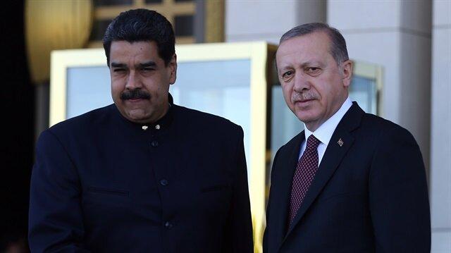 Maduro Beştepe'de: Yeni bir gücün doğduğunu biliyoruz