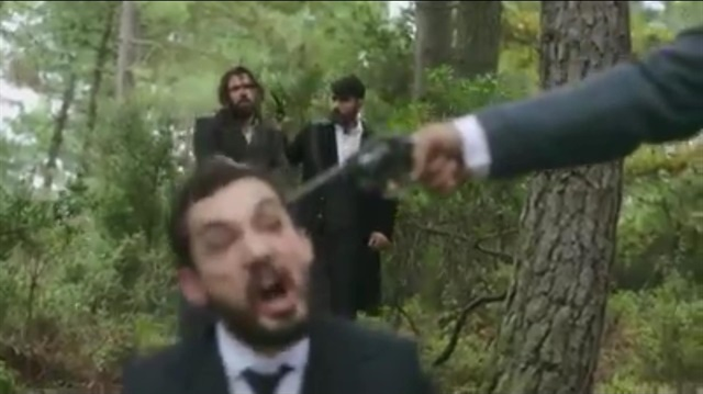 Payitaht Abdülhamid'de nefes kesen aksiyon sahnesi