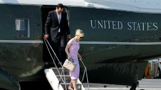 ABD Hazine Bakanı Steve Mnuchin ve eşi