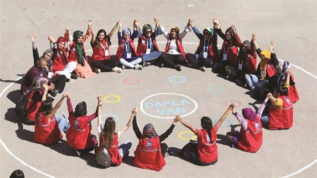 Gençlik ve Spor Bakanlığı tarafından 2 yıl önce hayata geçirilen 'Damla Projesi' büyük ilgi görüyor.