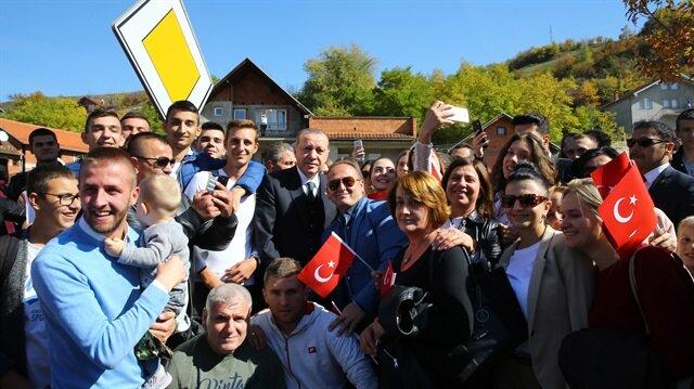 أردوغان يزور مدينة نوفي بازار الصربية