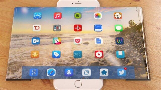 Katlanabilir ekranlı iPhone'lar LG tarafından üretilebilir.