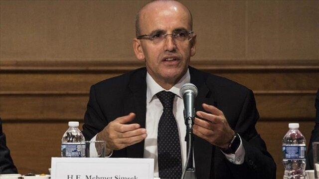 Turkey's Deputy PM Mehmet Şimşek