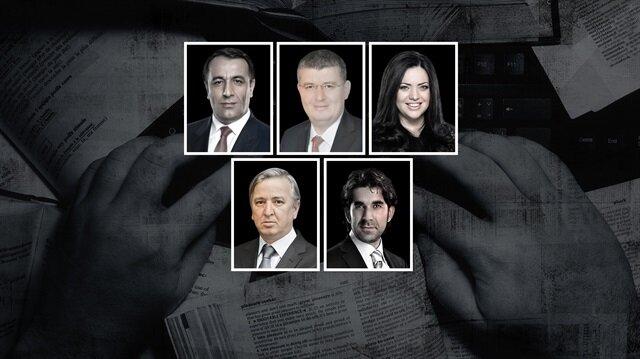 Erdal Tanas Karagöl, Mehmet Acet, Merve Şebnem Oruç, Aydın Ünal ve Serdar Tuncer