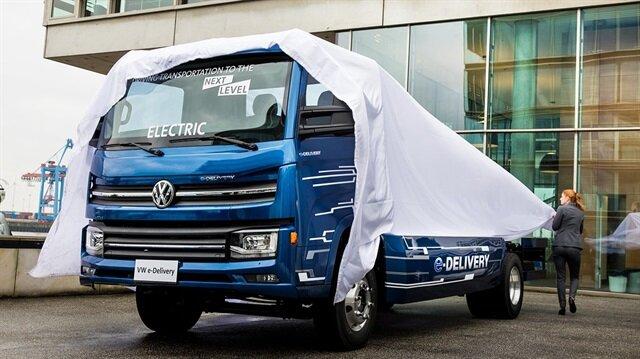 Volkswagen'den elektrikli kamyon sürprizi