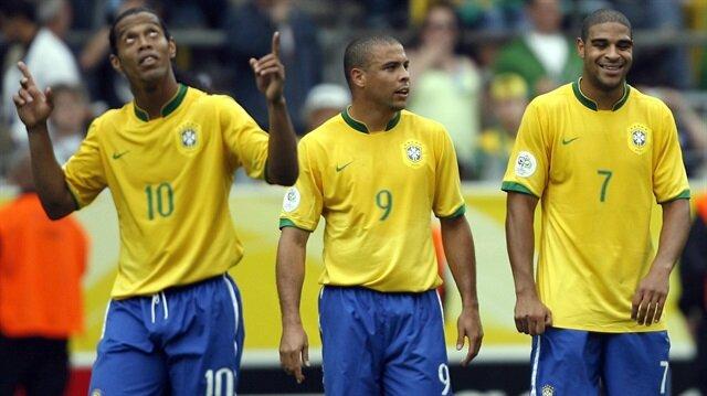 2004 yılında Inter'e transfer olduktan sonra kariyerinin zirvesine çıkan Brezilya santrafor Adriano, son dönemlerinde ülkesinde çete üyeliği yapıyordu. (Sağda)
