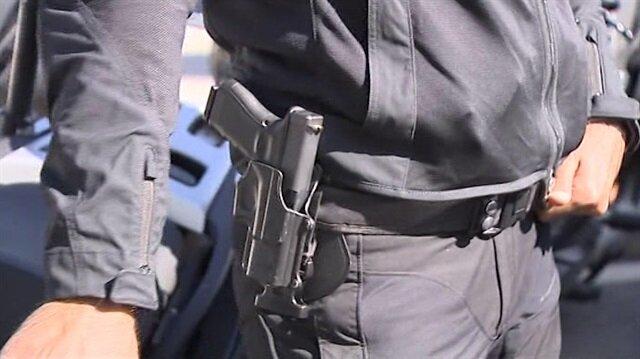 Erdoğan'ın koruma ekibine verilen yerli silahlar görüntülendi