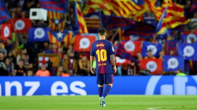 Barcelona Kulübü, stadyumunun ismi hakkını satarak Messi'nin sözleşmesini güçlendirecek.
