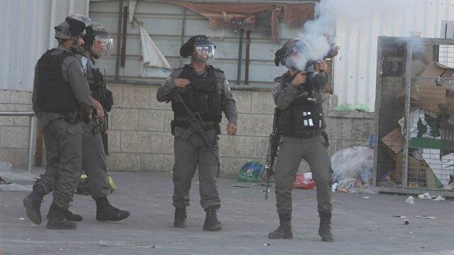 İşgalci İsrail askerleri Gazzelilere saldırdı: 5 yaralı