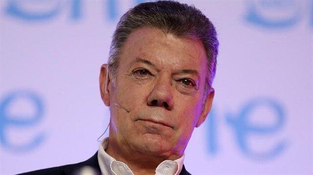 Kolombiya Devlet Başkanı Santos