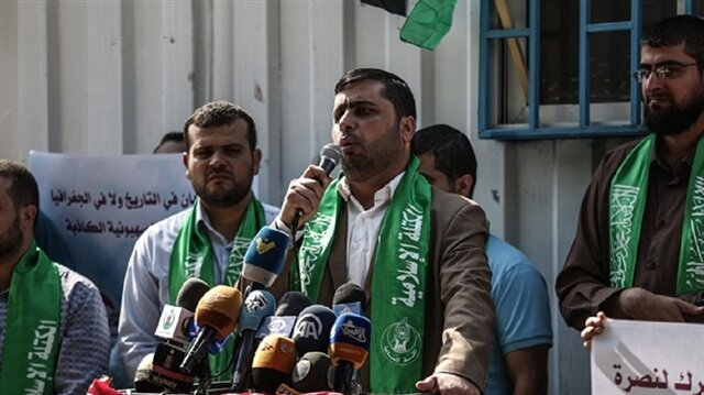 Hamas'tan İsrail'e tepki: İçişlerimize müdahale edilmek isteniyor