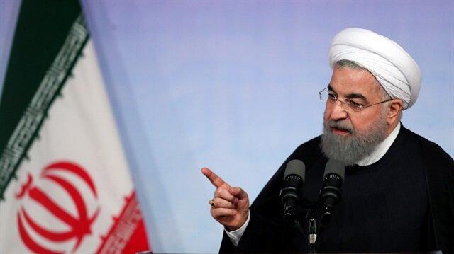 İran Cumhurbaşkanı Ruhani'den Trump'a tepki