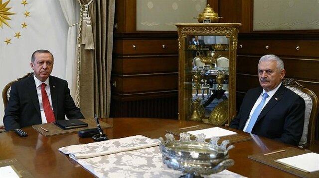 Cumhurbaşkanı Recep Tayyip Erdoğan, Başbakan Binali Yıldırım