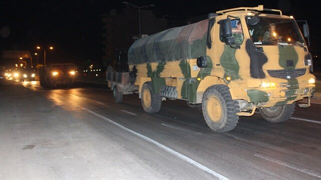TSK, İdlib bölgesine girdi