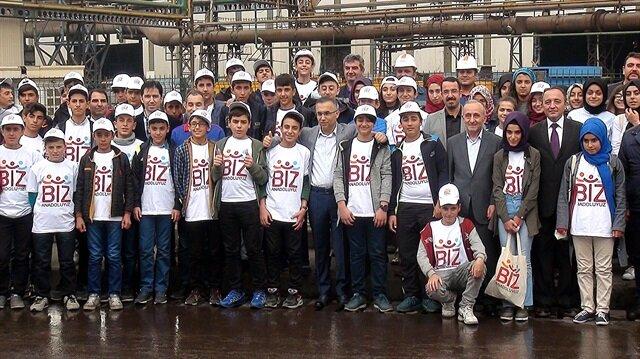 Bingöl'den 80 öğrenci Karabük'e geldi.
