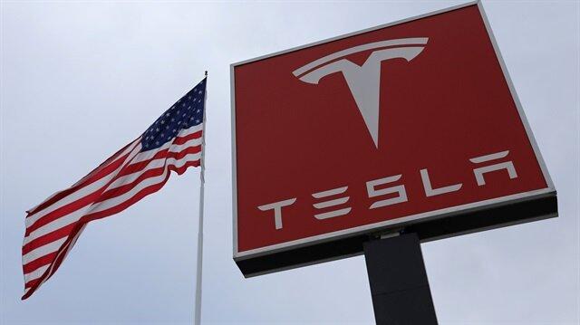 A Tesla charging station is seen in Salt Lake City, Utah, U.S.